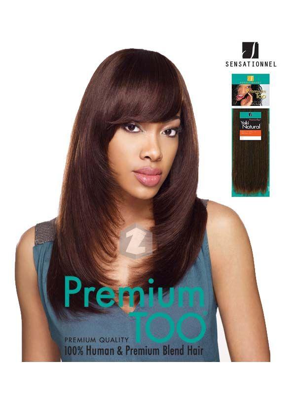 Sensationnel Premium Too  Human Hair Yaki Natural