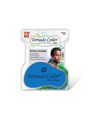 DREAD TORNADO COILER MINI  HAIR SPONGE BLUE - 10mm