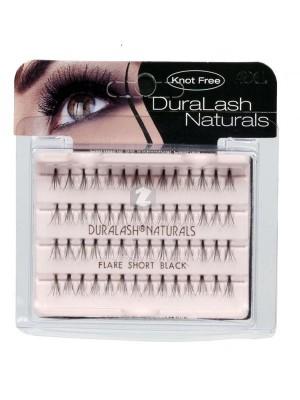 Ardell DuraLash Naturals Individual Eyelashes - Flare Short Black