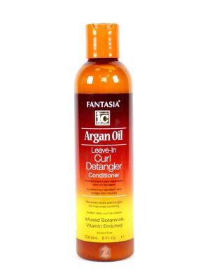 Fantasia IC Argan Oil Leave-In Curl Detangler Conditioner 8 oz
