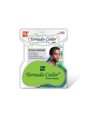 DREAD TORNADO COILER MINI HAIR SPONGE LIME GREEN - 10mm