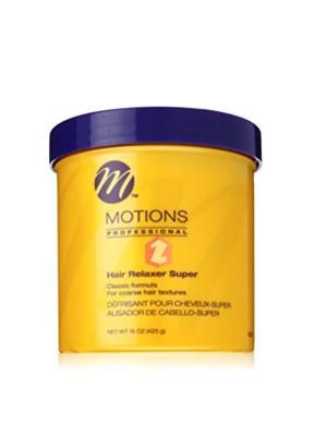 Motions Professional Oil Moisturizer Hair Relaxer - Super