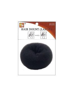 Blond Hair Donut - Black
