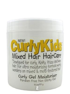 CurlyKids Mixed Hair HairCare Curly Gel Moisturizer 6 oz