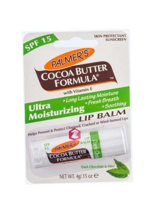 Palmers Cocoa Butter Formula Ultra Moisturizing Lip Balm Dark Chocolate and Mint 4 g