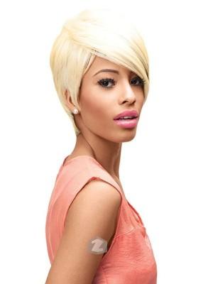 Sleek Ebony TONGABLE SYNTHETIC PREMIUM Wig