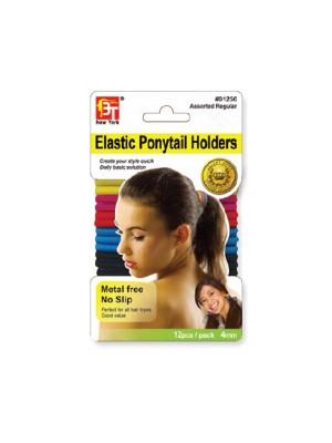 Ponytail Elastic Bands (4mm) Assorted