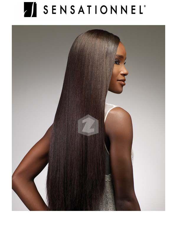 Sensationnel Remi Goddess Yaki Weave Human Hair All Colours